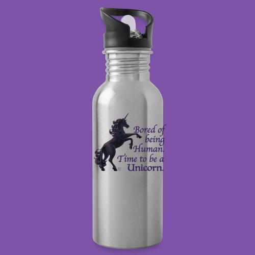 Time to be a Unicorn water bottel - Water Bottle
