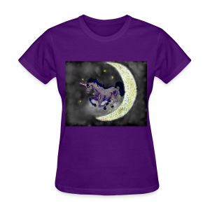 Unicorn by @dankraven420 - Women's T-Shirt