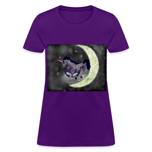 Unicorn by @dankraven420 - Women's T-Shirt
