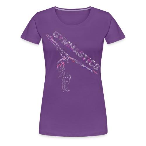 Gymnastics Sparkle - Women's Premium T-Shirt