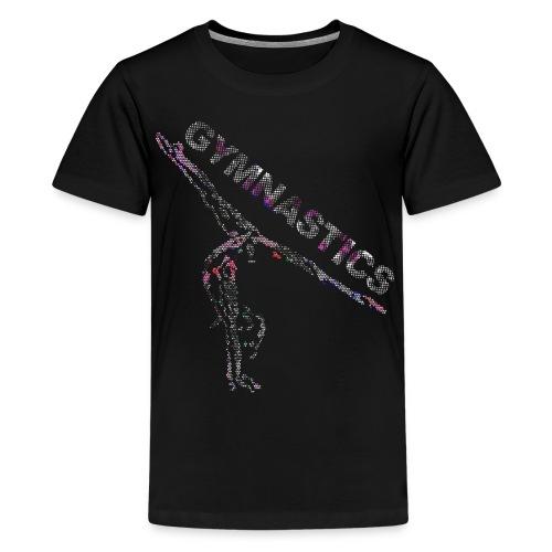 Gymnastics Sparkle - Kids - Kids' Premium T-Shirt