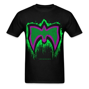 Ultimate Warrior Green Mask Shirt - Men's T-Shirt