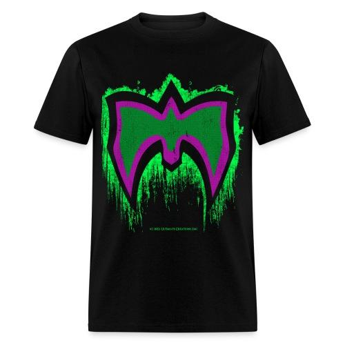 Ultimate Warrior Green Mask Shirt - Men's T-Shirt