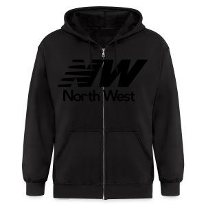 WeAllWeGot NorthWest Zip Up Hoodie - Men's Zip Hoodie