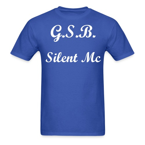 G.S.B. Silent MC Mens Shirt - Men's T-Shirt