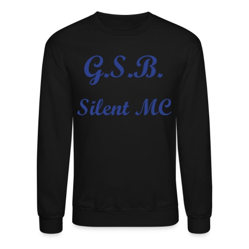Silent MC Crewneck Mens Shirt - Crewneck Sweatshirt
