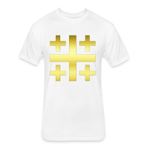 Jerusalem - Fitted Cotton/Poly T-Shirt by Next Level