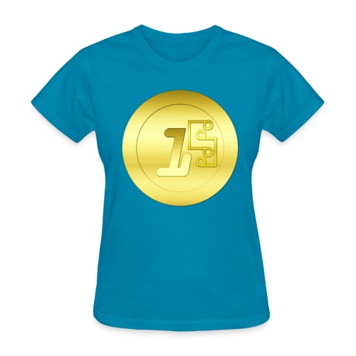 1 Digitalcoin - Women's T-Shirt