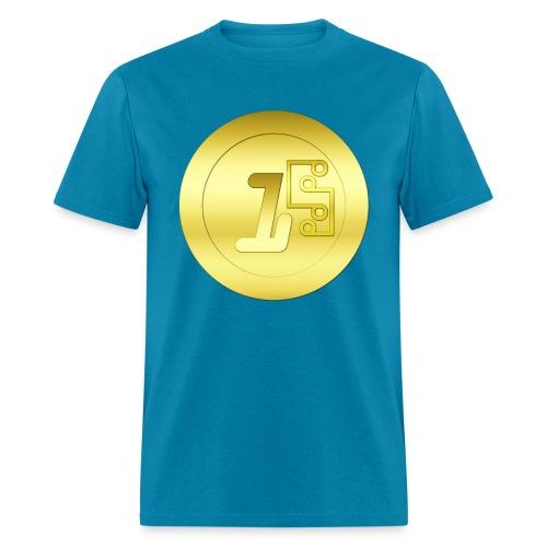 1 Digitalcoin - Men's T-Shirt