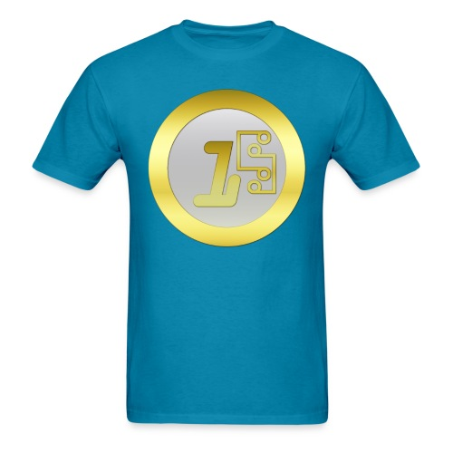 1 Digitalcoin - Men's T-Shirt