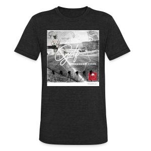 Retro Black-n-white Am Apparel - Unisex Tri-Blend T-Shirt