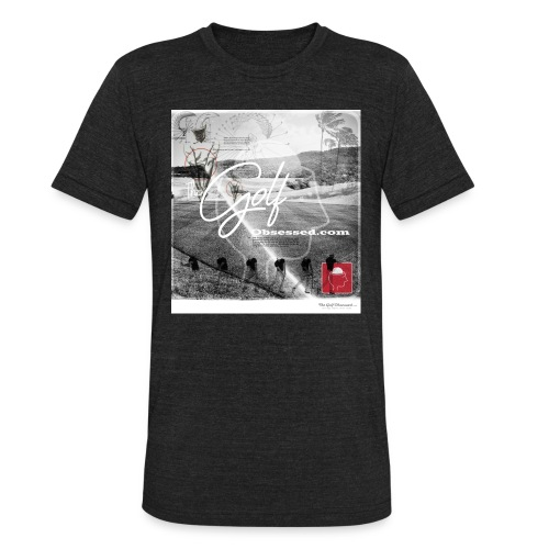 Retro Black-n-white Am Apparel - Unisex Tri-Blend T-Shirt
