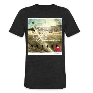 Retro Color Am Apparel - Unisex Tri-Blend T-Shirt