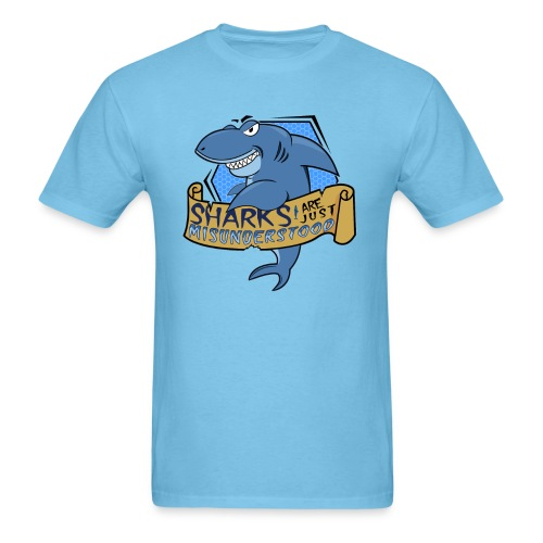 Sharks are Just Misunderstood - Men's T-Shirt
