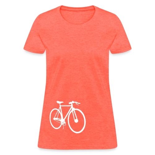 White fixie - Women's T-Shirt