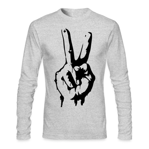 Peace (HQ) - Men's Long Sleeve T-Shirt by Next Level