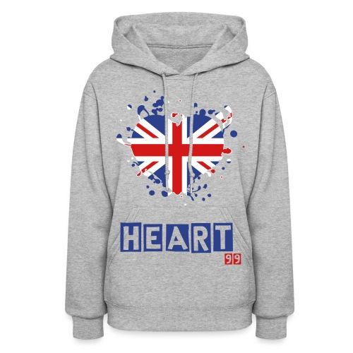 British Heart99 Sweater - Women's Hoodie