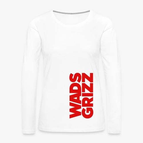 WADS GRIZZ Women's Premium Long Sleeve T-Shirt - Women's Premium Long Sleeve T-Shirt