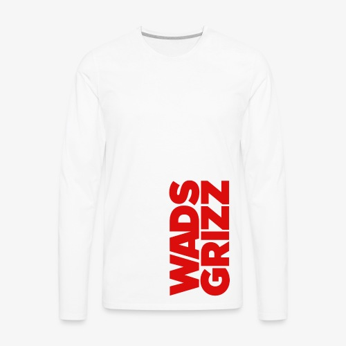 WADS GRIZZ Men's Premium Long Sleeve T-Shirt - Men's Premium Long Sleeve T-Shirt