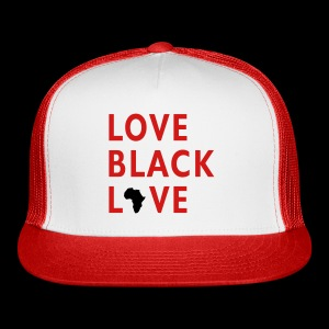 Love Black Love Hat - Trucker Cap