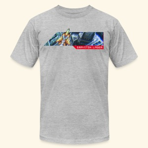 CRT-Screen (free shirtcolor selection) - Men's T-Shirt by American Apparel