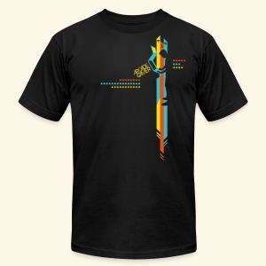 ArcadeGamer - Men's T-Shirt by American Apparel