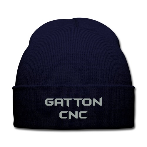 Gatton CNC Knit Cap - Knit Cap with Cuff Print