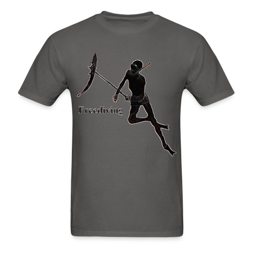 Freediving Spearfishing Breath Hold Underwater Sport Diver - Men's T-Shirt