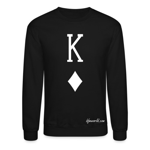 BFM King of Diamonds Sweatshirt - Crewneck Sweatshirt