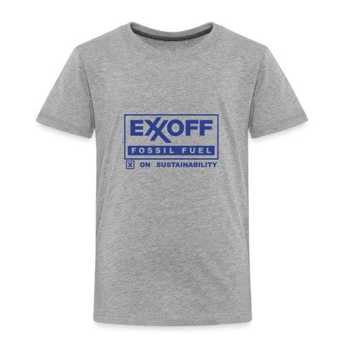 * EXXOFF fossil fuel [ X ] on Sustainability *  - T-shirt premium pour enfants