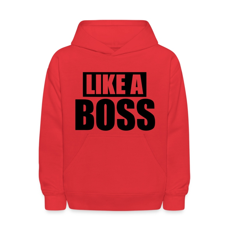 Like A Boss - stayflyclothing.com - Kids' Hoodie