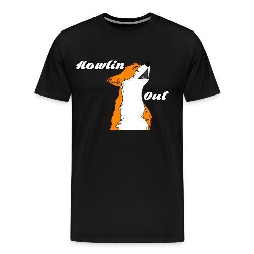 FoxOrigins, Howling Out - Men's Premium T-Shirt