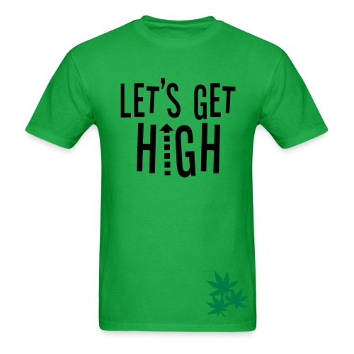 Let's Get High - Men's T-Shirt