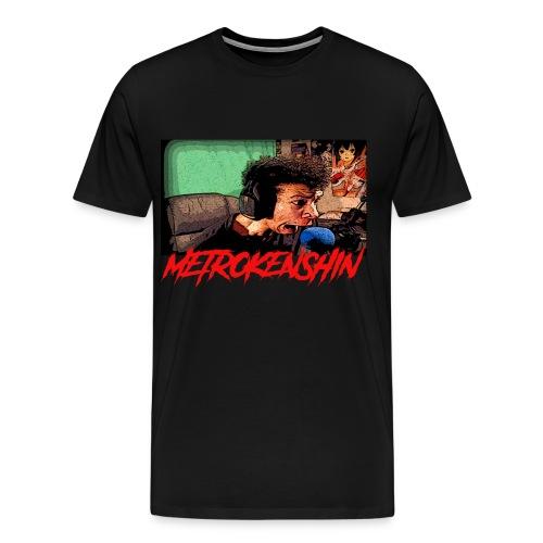 METROKENSHIN SCARED - Men's Premium T-Shirt
