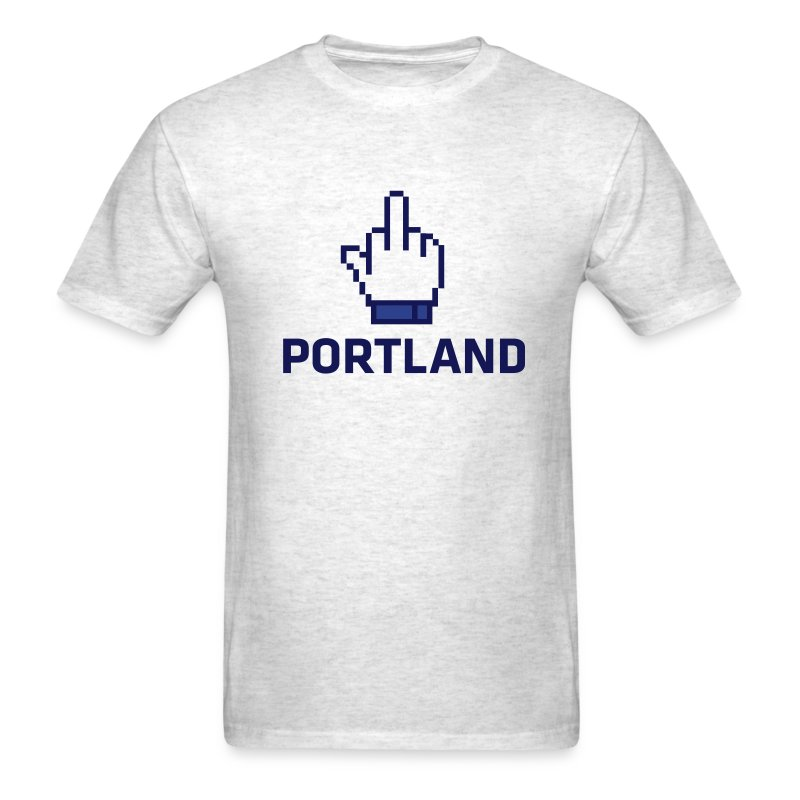 Eff Portland  - Men's T-Shirt