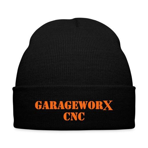 GarageWorX CNC Knit Cap - Knit Cap with Cuff Print