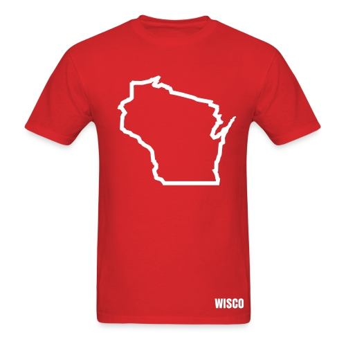 Wisconsin Logo Tee - Men's T-Shirt