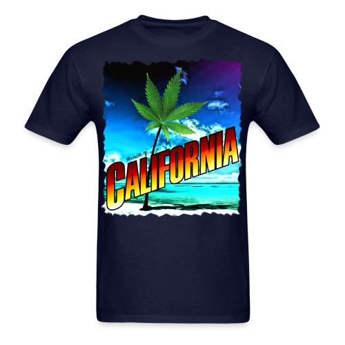 California Palm Tree - Men's T-Shirt