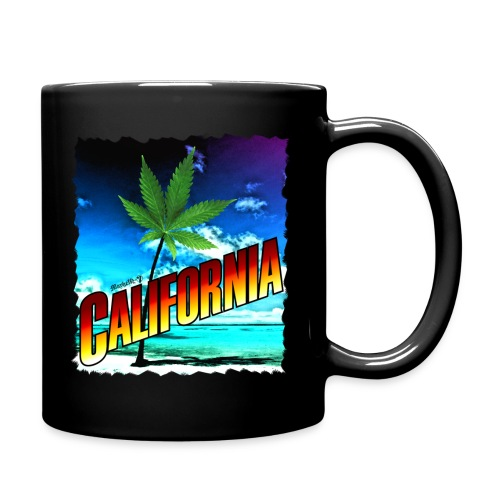 California Palm Tree - Full Color Mug