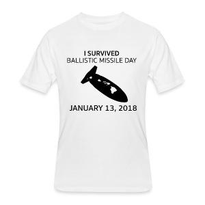Ballistic Missile Hawaii  - Men's 50/50 T-Shirt