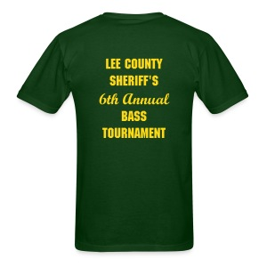 Lee County Sheriff's Bass Tournament Shirt - Men's T-Shirt