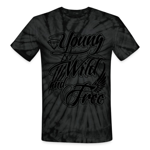 Young, Wild, and Free Tee - Unisex Tie Dye T-Shirt