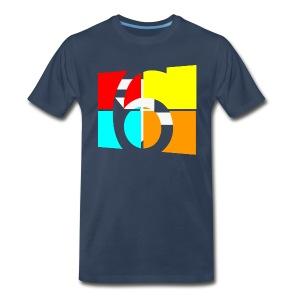 CG6 Logo shirt for Men - Men's Premium T-Shirt