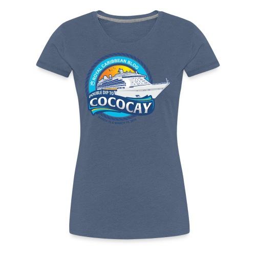 Women's Mariner of the Seas Group Cruise alternate shirt - Women's Premium T-Shirt