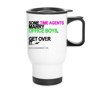 Some Time Agents Marry Office Boys Travel Mug - Travel Mug