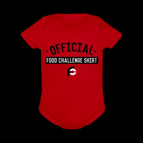 Baby Short Sleeve One Piece - Organic Short Sleeve Baby Bodysuit