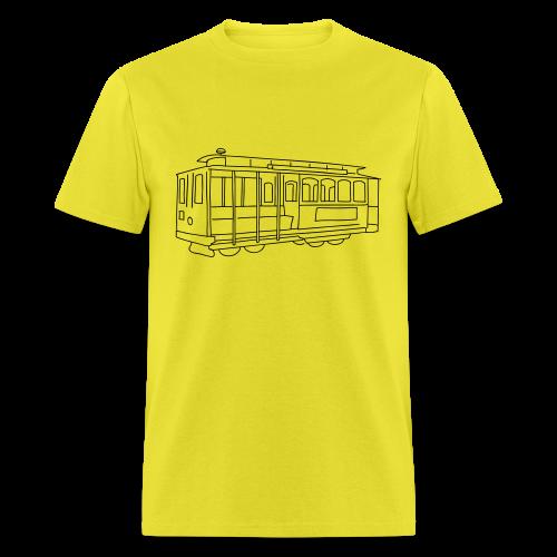 San Francisco Cable Car - Men's T-Shirt