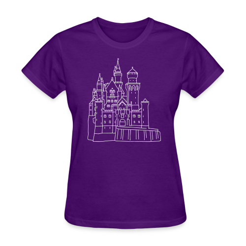 Neuschwanstein Castle - Women's T-Shirt