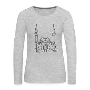 Sehitlik Mosque Berlin - Women's Premium Long Sleeve T-Shirt