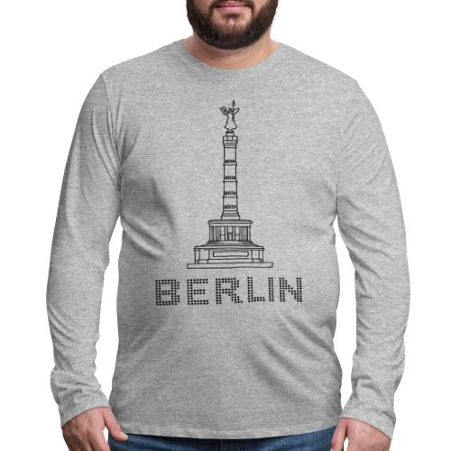 Berlin Victory Column - Men's Premium Long Sleeve T-Shirt